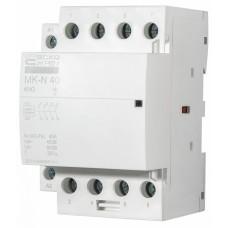 Модульний контактор MK-N 4P 40A 4NO АСКО A0040030033