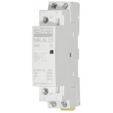 Модульний контактор MK-N 2P 25A 2NO АСКО A0040030025