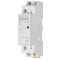 Модульний контактор MK-N 2P 20A 2NO АСКО A0040030024