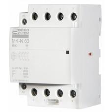 Модульний контактор MK-N 4P 63A 4NO АСКО A0040030034