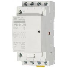 Модульний контактор MK-N 4P 25A 4NO АСКО A0040030027