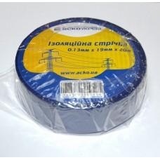Ізоляційна стрічка 0,13мм х 19мм х 20м синя  АСКО A0150020041