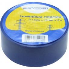 Ізоляційна стрічка 0,13мм х 19мм х 5м синя  АСКО A0150020054
