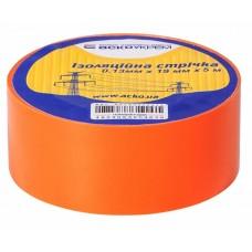 Ізоляційна стрічка 0,13мм х 19мм х 20м помаранчева  АСКО A0150020046