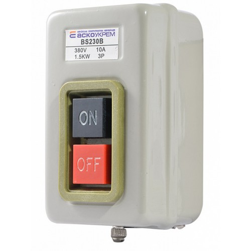 BS-230B Кнопковий вимикач-роз'єднувач АСКО A0140020210