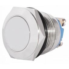TY 19-211A Scr  Кнопка металева пласка, (гвинтове з'єднання), 1NO. АСКО A0140010104