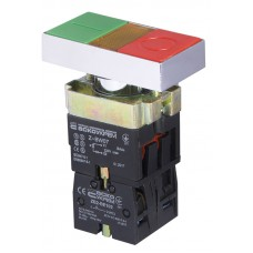 XB2-BW8375 кнопка Старт-Стоп з підсвіткою  АСКО A0140010024