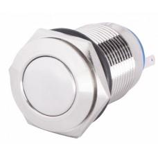 TYJ 16-311 Кнопка металева пласка з фікс., 1NO+1NC. АСКО A0140010090