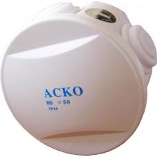 Коробка розподільча 80х50 IP44 кругла АСКО A0150170001