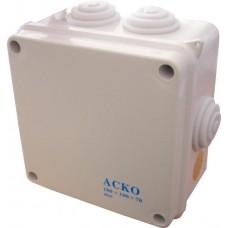 Коробка розподільча 100х100х70 IP55 АСКО A0150170004