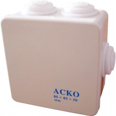 Коробка розподільча 85х85х50 IP44 АСКО A0150170006