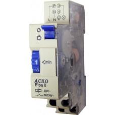 Таймер-вимикач Е-8  ( 1..7хв. ) на Din-рейку АСКО A0090040002