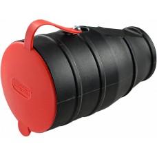 Розетка каучукова з захисною кришкою 3Р+РЕ 25А IP44 АСКО A0250010006