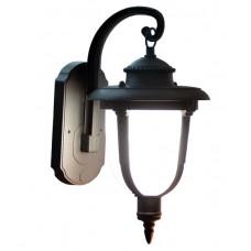 Світильник садово-парковий 60-99 чорний/матове скло 220В/60Вт АСКО A0180080112