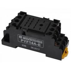 Колодка для реле PYF14A-E под МY4 АСКО A0090020005