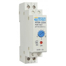 Реле часу АСКО-УКРЕМ NTE8-120A електронне щитове A0090050003