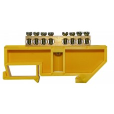 Нульова шина з ізолятором на Din-рейку ВС - 4А 08 АСКО A0150120049