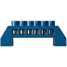 Нульова шина в пластиковому корпусі BC-6A 06 (6*9) АСКО A0150120059