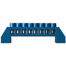 Нульова шина в пластиковому корпусі BC-6A 08 (6*9) АСКО A0150120060