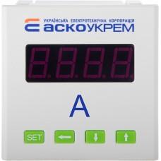 Амперметр АСКО-УКРЕМ AС цифровий  5А 72х72  модель ЦА-7  A0190010125