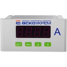 Амперметр АСКО-УКРЕМ АС цифровий 5А 96х48  модель ЦА-5 A0190010123