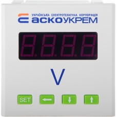 Вольтметр  АСКО-УКРЕМ AС 600В 72х72  модель ЦВ-7 цифровий A0190010121
