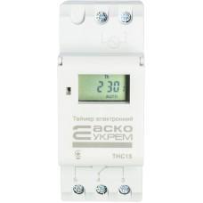 Таймер АСКО-УКРЕМ THC15 тижневий електронний A0090040005