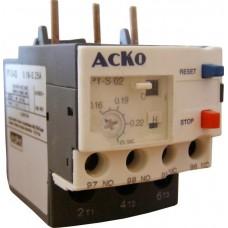 Реле теплове РТ(H)-S LR-D02 (0.16-0.25A) АСКО A0040060025