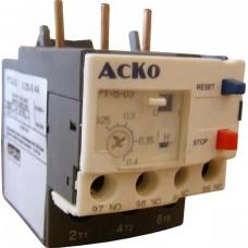 Реле теплове РТ(H)-S LR-D03 (0.25-0.4A) АСКО A0040060026
