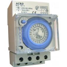 Таймер АСКО-УКРЕМ SUL-181h механічний добовий щитовий A0090040001