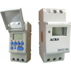 3SHC18A таймер електронний добовий щитовий АСКО A0090040003