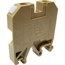 Клемник JXB 6/35 на Din-рейку жовтий АСКО A0130010015