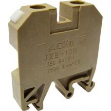 Клемник JXB 10/35 на Din-рейку жовтий АСКО A0130010017