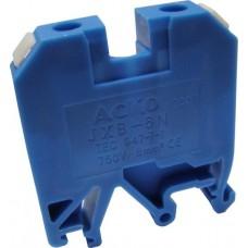 Клемник JXB- 6/35 на Din-рейку синій АСКО A0130010024