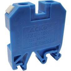 Клемник JXB 10/35 на Din-рейку синій АСКО A0130010025