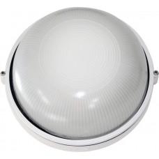 Світильник круглий 0301 білий (чорний) 60W Е27 ІР54 АСКО A0180010009