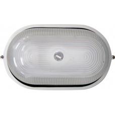 Світильник овальний 0201 чорний 100W Е27 ІР54 АСКО A0180010033