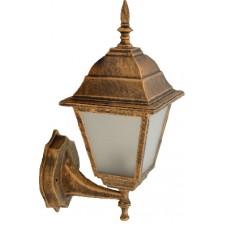 Світильник садово-парковий 602S античне золото/матове скло 220В/60Вт АСКО A0180080101