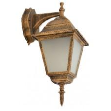 Світильник садово-парковий 672S античне золото/матове скло 220В/60Вт АСКО A0180080107