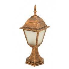 Світильник садово-парковий 642S античне золото/матове скло 220В/60Вт АСКО A0180080103