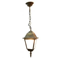 Світильник садово-парковий 652S античне золото/матове скло 220В/60Вт АСКО A0180080105