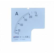 Шкала 200/5А до амперметра А-72-6 АСКО A0190010071