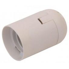 BK260 Е14 патрон пластиковий білий BUKO WT260
