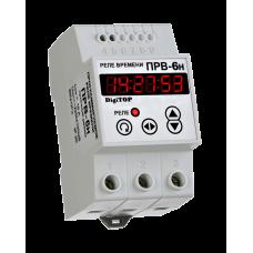 Реле часу DigiTOP РВ-6Н (програмоване-тижневий режим) на DIN-рейку
