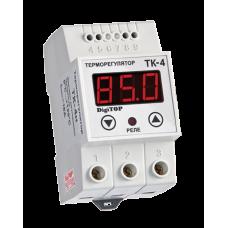ТК-4Н одноканальний циф.терморегулятор з датчиком DS18B20 на DIN-рейку DigiTOP