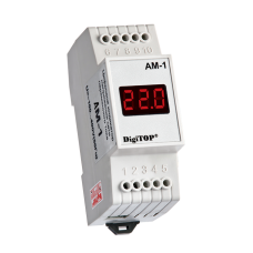 Амперметр DigiTOP AМ-1 на DIN-рейку (зовнішній ТТ)