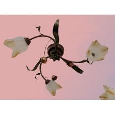 Тюльпан/3 ржа світильник декоративний