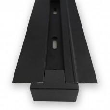 CAB1004 шинопровод однофазный вбудований для трековых светильников, чорний 2м 6676 ФЕРОН 10354