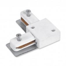 LD1005 коннектор кутовий для встраиваемого шинопровода однофазного, білий 6679 ФЕРОН 10359