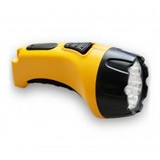 TH2294 аккум.ліхтарик (TH93В)DC жовтий 7 LED 3461 ФЕРОН 12652